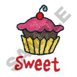 SWEET embroidery design