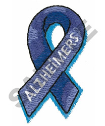 ALZHEIMERS embroidery design