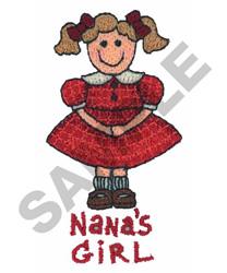 NANAS GIRL embroidery design