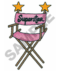 SUPERSTAR CHAIR embroidery design