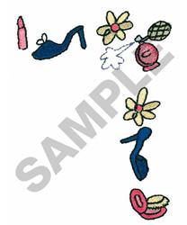 DIVA BORDER embroidery design