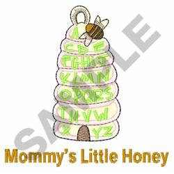 BEE HIVE ABC embroidery design