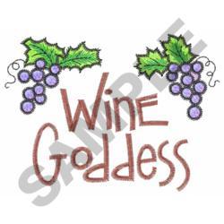 WINE GODDESS embroidery design