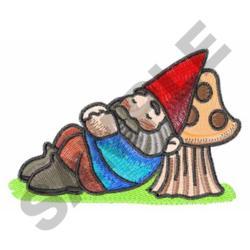 SLEEPY GNOME embroidery design