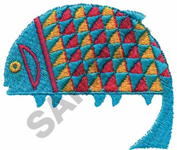 INDIAN FISH DESIGN embroidery design