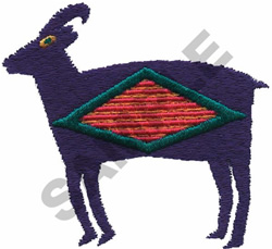 INDIAN GOAT DESIGN embroidery design