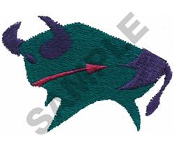 INDIAN BISON DESIGN embroidery design