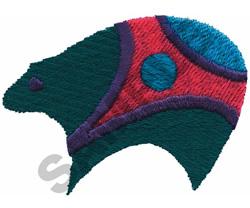 INDIAN BEAR DESIGN embroidery design