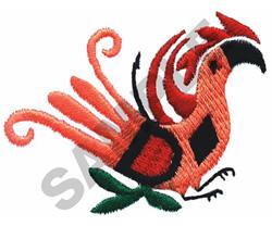 INDIAN BIRD DESIGN embroidery design