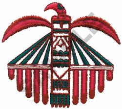 INDIAN EAGLE DESIGN embroidery design