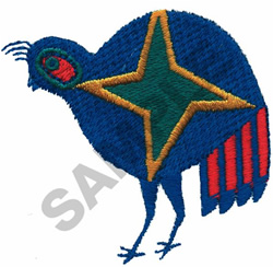QUAIL embroidery design