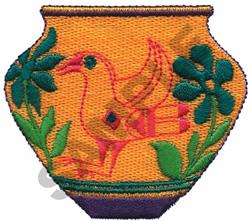 VASE embroidery design