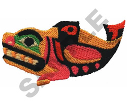 NORTHWEST FISH embroidery design