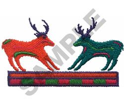 DEER & ANTELOPE embroidery design