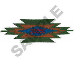 INDIAN ABSTRACT BORDER embroidery design