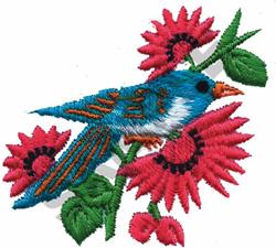 BIRD-3 embroidery design