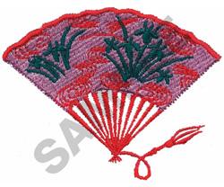 FAN embroidery design