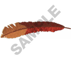 EAGLE FEATHER embroidery design