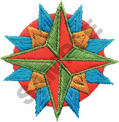 SOUTHWEST STAR embroidery design