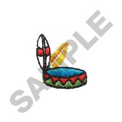 INDIAN HEADBAND embroidery design