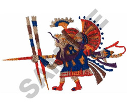 CULTURAL WARRIOR embroidery design