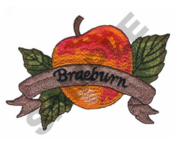BRAEBURN APPLE embroidery design