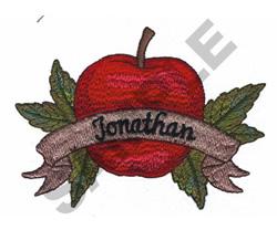 JONATHAN APPLE embroidery design