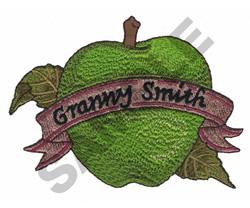 GRANNY SMITH embroidery design