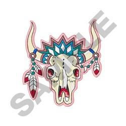 Southwest Skull embroidery design