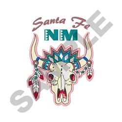 Santa Fe Nm embroidery design