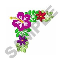 Hawaiian Corner embroidery design