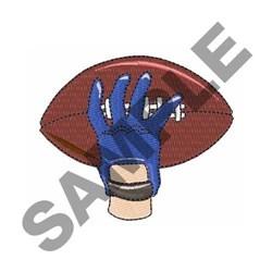 Throw Football embroidery design