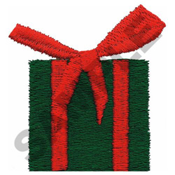 CHRISTMAS PRESENT embroidery design