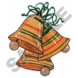 HOLIDAY BELLS embroidery design