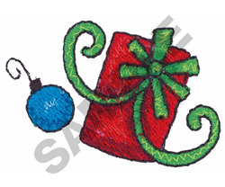 GIFT AND ORNAMENT embroidery design