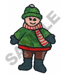 LITTLE BOY embroidery design
