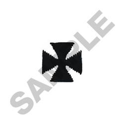 SMALL MALTESE CROSS embroidery design