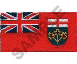 ONTARIO - CANADA embroidery design