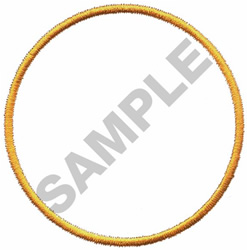 CIRCLE BORDER embroidery design