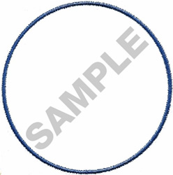 3  CIRCLE embroidery design