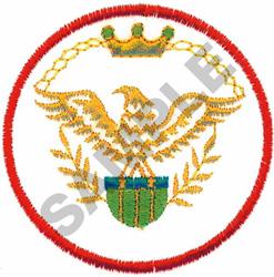 EAGLE CREST embroidery design