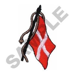 FLAG OF DENMARK embroidery design