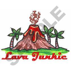 LAVA JUNKIE embroidery design