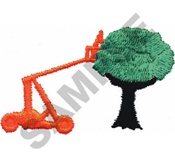 TREE TRIMMER embroidery design