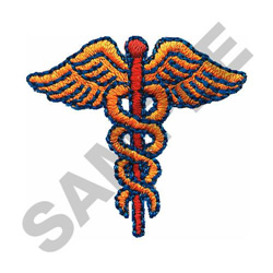 CADUCEUS embroidery design