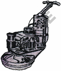 CEMENT SCREED embroidery design