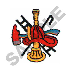 FIRE LOGO embroidery design