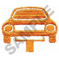 CAR ON LIFT embroidery design