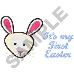 MY FIRST EASTER embroidery design