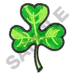 IRISH CLOVER embroidery design